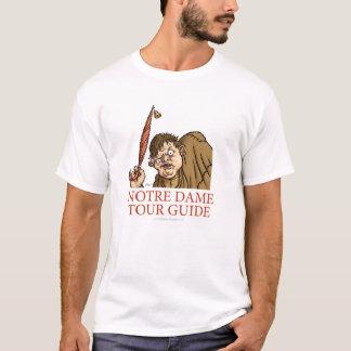 Chemise de guide touristique de Quasimodo T-shirt