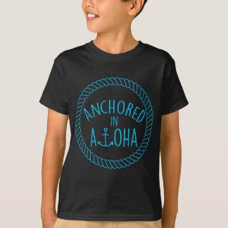 Chemise de Keiki d'ancre de corde T-shirt