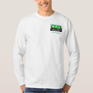 Chemise de la douille des hommes de CERT longue T-shirt