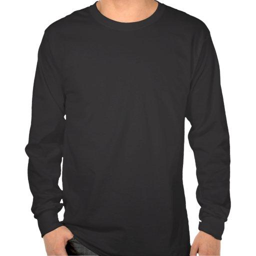 Chemise de la douille des hommes de kanji du feu l t-shirts