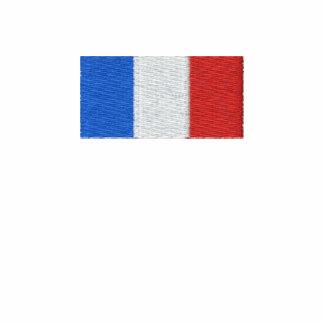 Chemise de la France - drapeau français brodé