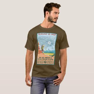 Chemise de l'éclipse de parc national t-shirt