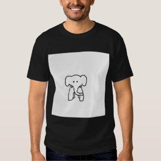 chemise de l'éléphant des hommes t-shirts