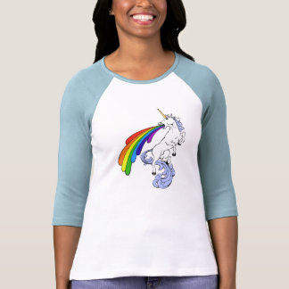 Chemise de licorne d'arc-en-ciel t-shirts