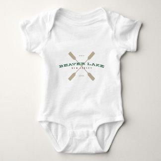 Chemise de logo de palette du lac 1905 beaver t-shirt