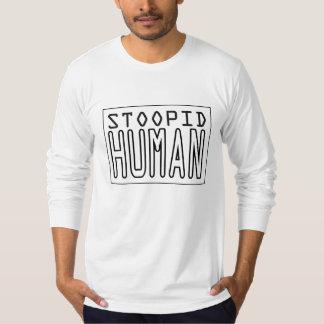 Chemise de logo de Stoopidhuman T-shirts