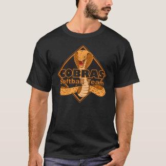 Chemise de logo d'équipe du base-ball de cobras t-shirt