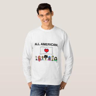 Chemise de Longsleeve de tous les hommes T-shirt