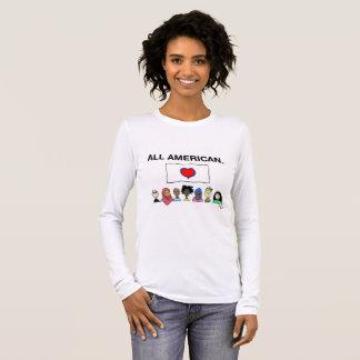 Chemise de Longsleeve de toutes les femmes T-shirt À Manches Longues