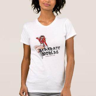 Chemise de lumière de la flamme Pin- T-shirt
