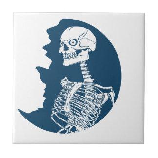 chemise de lune bleue petit carreau carré