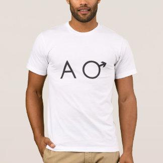 chemise de mâle alpha t-shirt