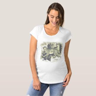 Chemise de maternité unique, originale, punk T-Shirt de maternité