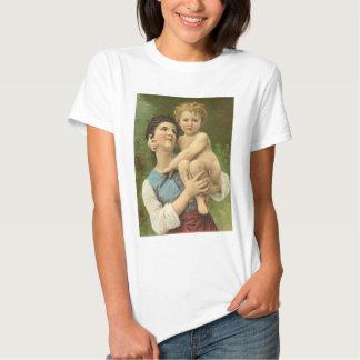 Chemise de mère et d'enfant t-shirts