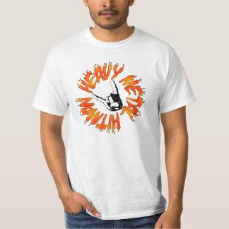 Chemise de métaux lourds de flamme de Hitman T-shirt