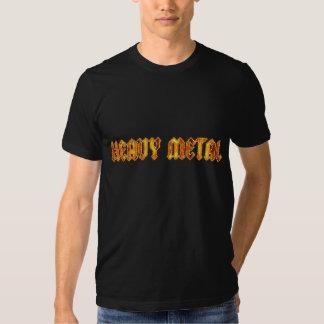 Chemise de métaux lourds de flamme t-shirts