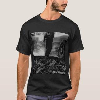 """Chemise de noir de couverture d'album de """"herse de t-shirt"""
