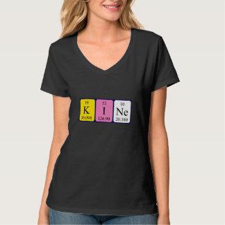 Chemise de nom de table périodique de Kine T-shirts