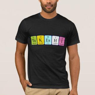 Chemise de nom de table périodique de Takeshi T-shirt