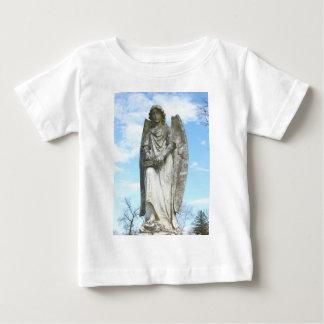 Chemise de nourrisson d'ange de ciel bleu t-shirts