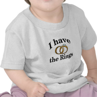Chemise de nourrisson de mariage de porteur t-shirts
