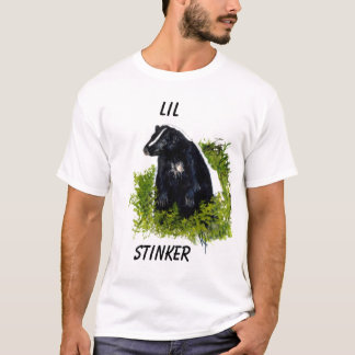 Chemise de nuit de navet de Lil de mouffette T-shirt