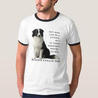 Chemise de papa de border collie t-shirt