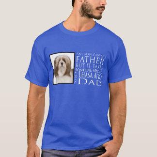 Chemise de papa de Lhasa Apso T-shirt