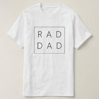 Chemise de papa de rad pour la fête des pères t-shirt