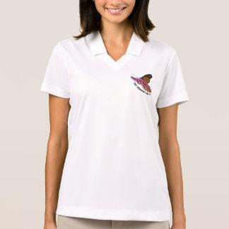 Chemise de papillon de monarque polo