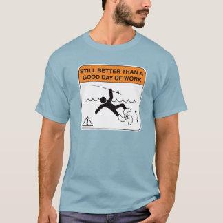 Chemise de pêche - améliorez qu'un beau jour de t-shirt