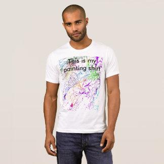 Chemise de peinture t-shirt
