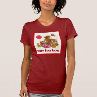 Chemise de pique-nique d'ours de nounours t-shirt