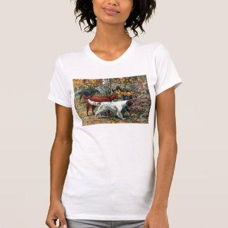 Chemise de poseurs de Gordon, irlandais et anglais T-shirt