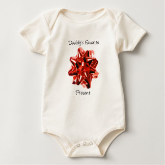 """Chemise """"de présent du favori du papa"""" body pour bébé"""