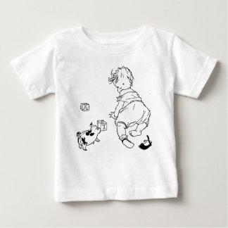 Chemise de rampement de bébé t-shirt