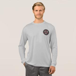Chemise de représentation du longsleeve des hommes t-shirt