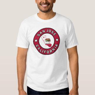 Chemise de San Jose la Californie T-shirts