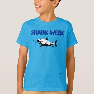 Chemise de semaine de requin d'enfants t-shirt