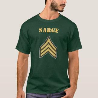 Chemise de sergent d'armée t-shirt