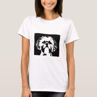 Chemise de Shih Tzu - bébé de dames - T-shirt de