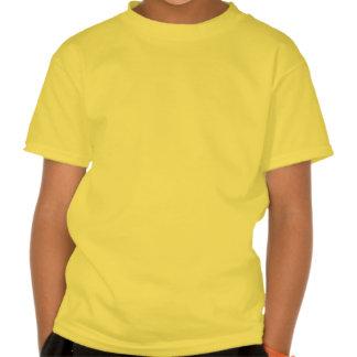 Chemise de signe de paix de flammes d'enfants t-shirts