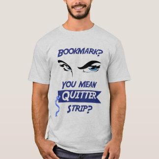 Chemise de signet t-shirt