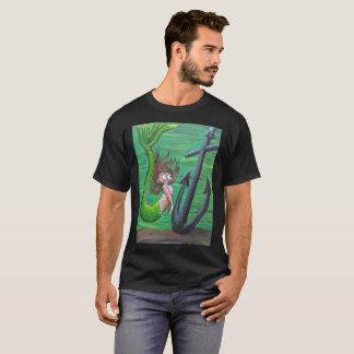 Chemise de sirène et d'ancre t-shirt