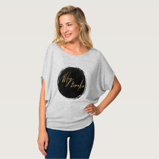Chemise de slouch de ruisseaux d'Abby T-shirt