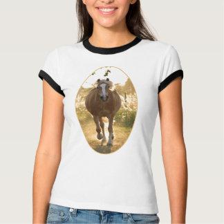 Chemise de sonnerie de Haflinger T-shirt