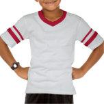 Chemise de sport de taille de la jeunesse de logo t-shirts