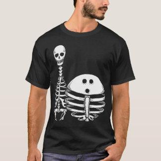 Chemise de squelettes de bowling t-shirt