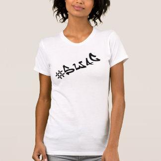 Chemise de #Swag de butin de Hashtag T-shirt