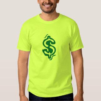 chemise de symbole dollar t-shirts